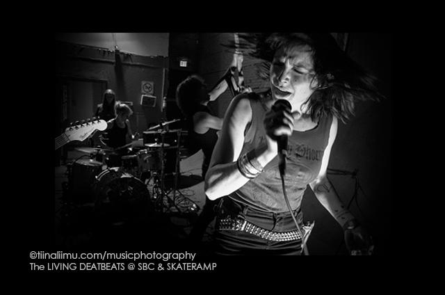 The LIVING DEADBEATS; SBC; Vancouver; 2013; tiina liimu music photography