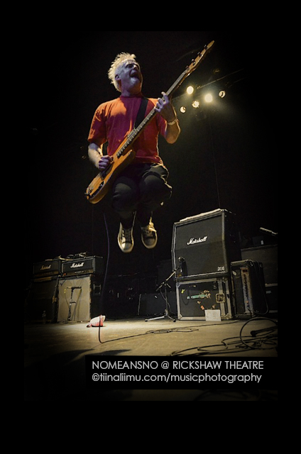 NOMEANSNO @ The Rickshaw Theatre - tiina liimu music photography