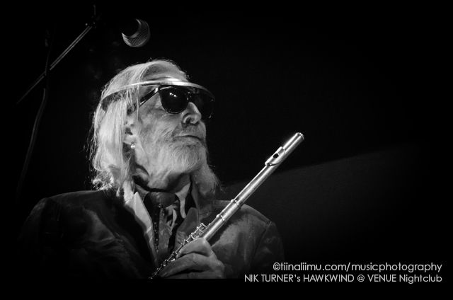 NIK TURNER's HAWKWIND; Venue Nightclub; Vancouver; 2014; tiina liimu music photography