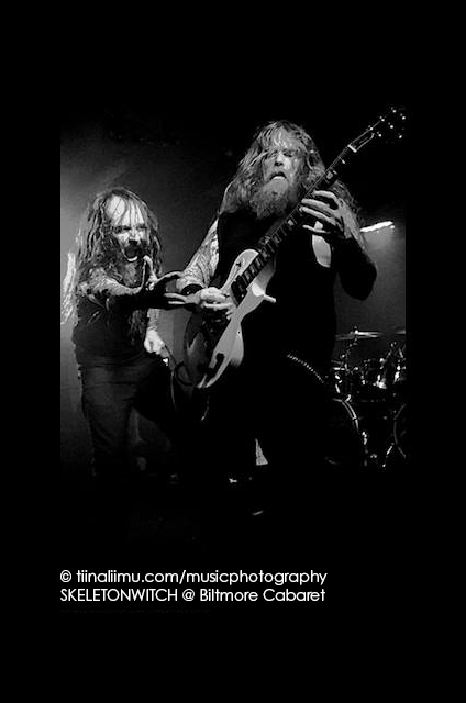 SKELETONWITCH @ Biltmore Cabaret Vancouver; tiina liimu music photography