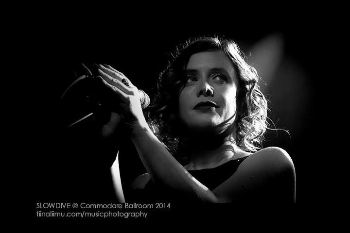 Slowdive;Commodore Ballroom; VANCOUVER; tiina liimu music photography