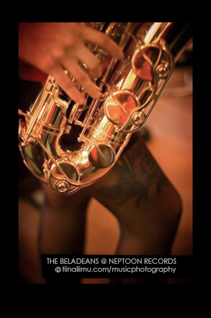 The BELADEANS @ NEPTOON RECORDS - tiina liimu music photography