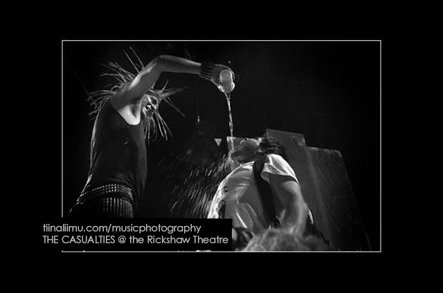 THE CASUALTIES @ the Rickshaw Theatre; Vancouver; 2013; tiina liimu music photography