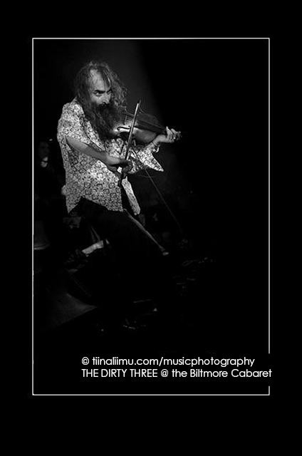 THE DIRTY THREE; Biltmore Cabaret; Vancouver 2012; tiina liimu music photography
