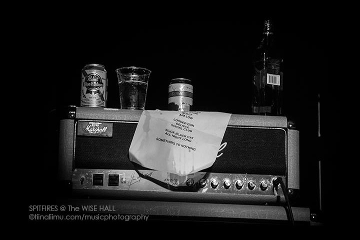 THE SPITFIRES; WISE HALL; VANCOUVER; tiina liimu music photography