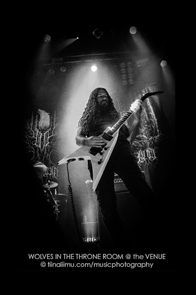 Wolves In The Throne Room; The VENUE - tiina liimu music photography 2014